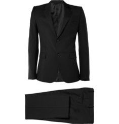 Balenciaga Wool and Mohair-Blend Slim-Fit Suit | MR PORTER