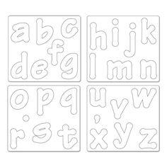 Risultati immagini per lettere alfabeto in feltro fai da te