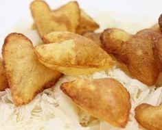 Corazones de patatas soufflé en Olla GM. La receta: http://www.ollasgm.com/corazon-de-souffle-en-olla-gm/