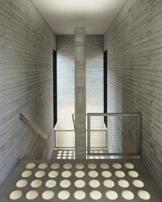 zimmern community center   stairwell ~ ecker architekten