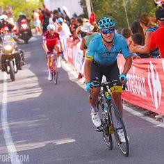 source instagram tdwsport Strongest rider of today @lutsenko_alexey #stage5 #winner @lavueltaaespana #LV2017 #tourofspain #cycling @proteamastana tdwsport 2017/08/24 09:01:42