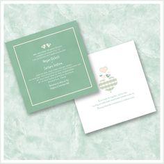 Birds In Love Wedding Invitations by ImpressivePrint on Etsy, $100.00