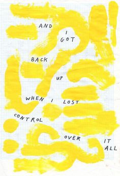 a lovely yellow coloured journal page with lettering ideas and type design stuff going on. Pretty Words, Beautiful Words, Cool Words, Motivacional Quotes, Friend Quotes, Happy Quotes, Grafik Design, Mellow Yellow, Quotations