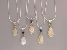 Elk Ivory Pendants, Handmade and Custom Design  www.studiopandora.com