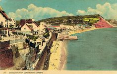 Sidmouth from Connaught Gardens Exeter, Devon, England, Gardens, Places, Painting, Art, Art Background, Outdoor Gardens