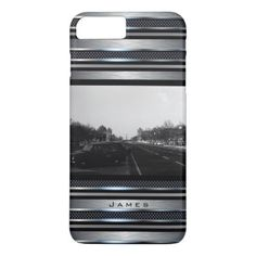 #Vintage Germany Berlin The 17th June Street iPhone 7 Plus Case - #travel #trip #journey #tour #voyage #vacationtrip #vaction #traveling #travelling #gifts #giftideas #idea