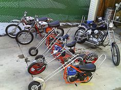 MINI CHOPPER MINI BIKE BONANZA REPLICA BONANZA PARTS