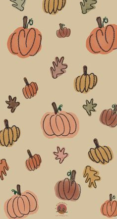 Girly Wallpaper, Iphone Wallpaper Herbst, Cute Fall Wallpaper, Holiday Wallpaper, Cute Patterns Wallpaper, Iphone Background Wallpaper, Butterfly Wallpaper, Aesthetic Iphone Wallpaper, Iphone Wallpaper Fall Leaves