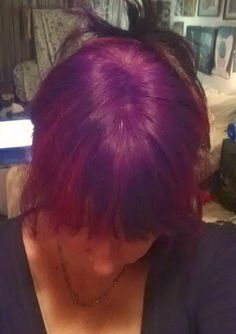 this is my first purple, Splat lusty lavender, after 2 shampoos still brilliant colour.  Next time I'll try KoolAid
