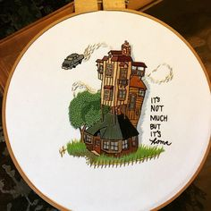 Harry Potter embroidery Potter embroidery Great ideas for lovely embroidery By embroidering wonderful styles, little results or wond. Hand Embroidery Stitches, Diy Embroidery, Cross Stitch Embroidery, Cross Stitch Patterns, Embroidery Designs, Cross Stitching, Crochet, Cross Stitch Harry Potter, Hogwarts