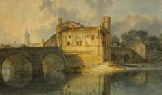 Joseph Mallord William Turner 'Wakefield Bridge', c.1798 © The British Museum