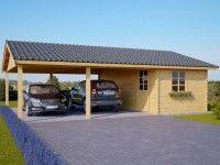 Carport voiture neuville carports pinterest for Container garage voiture