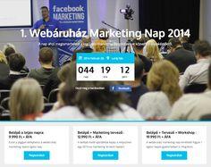 1. Webáruház Marketing Konferencia - Regisztrálj most!  http://www.netkreativ.hu/webaruhazmarketing2014/