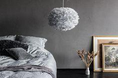 VITA Eos Fjerlampe i Light Grey kan købes billigt her