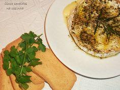Cinco sentidos na cozinha: Camembert no forno com ervas aromáticas