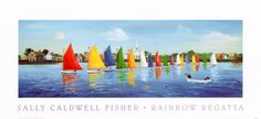 Sally Caldwell-Fisher - Rainbow Regatta