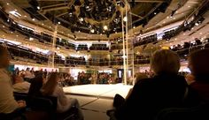 The Royal Exchange Theatre, Manchester (theatre in the round) Arena Stage, Theatre Stage, Theatre In The Round, Visit Manchester, Tourism Website, Green Rooms, Great Stories, Night Life, Attraction