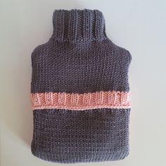 DIY: la housse de bouillotte girly au tricot.