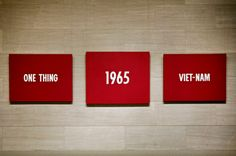 Arte Conceptual / On Kawara / One Thing, 1965, Viet-Nam.