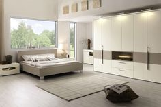 white carpet in all white bedroom - Google Search