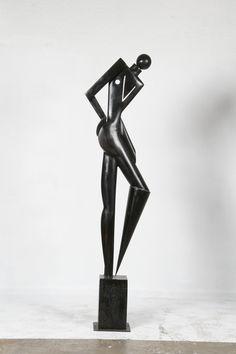 "Paul Dibble ""Geometric Figure I"" 2008 Les Oeuvres, Terracotta, Sculptures, Bronze, Ceramics, Contemporary, Gallery, Art, Ceramica"