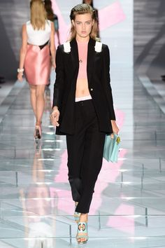 REPIN this Versace look and it could be yours to rent next season on Rent the Runway! #RTRxMFW