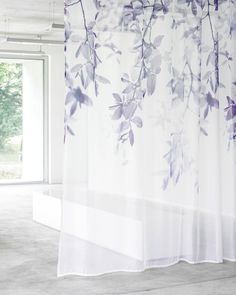 Editors' Picks: 96 Off-the-Wall Fabrics and Wallcoverings Tulle Curtains, Curtain Fabric, Corrugated Wall, Carnegie Fabrics, Vinyl Wall Covering, Hand Painted Wallpaper, Wood Vinyl, Interior Design Magazine, Painted Paper