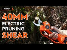 What a Cool 40mm electric pruning shear!! - YouTube Shearing, Pruning Shears, Outdoor Power Equipment, Garden Tools, Electric, Cool Stuff, Youtube, Gardening Scissors, Yard Tools