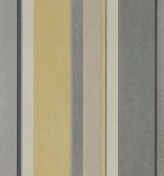 grey and yellow striped wallpaper - Google Search
