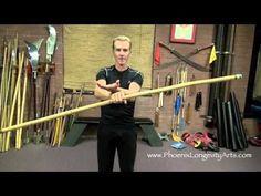 Bo Staff Spins, video 1