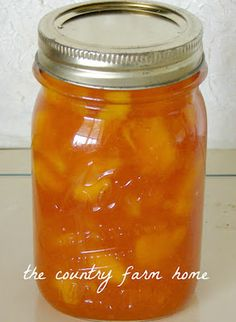 Amish Peach Jam Source: thecountryfarmhome