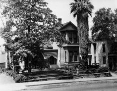 Historic Bunker Hill Los Angeles | The Bunker Hill residence of Frank A. Gibson at 520 Court Street. His ...