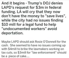 Here's an idea, STOP funding ILLEGALS!