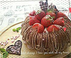 今日はバレンタイン エンゼル型でコーヒースポンジにチョコガナッシュをはさみ、チョコホイップクリームでデコしました。 - 340件のもぐもぐ - St.Valentine✨カフェモカエンゼルケーキ by prizumkyk727