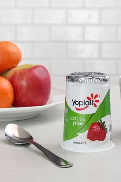Did you know Lactose Free Yoplait comes in Strawberry, Cherry, Peach and Vanilla? The only question is which one to enjoy first.