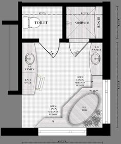 Delightful Master Bathroom Layout Ideas To Inspire You How To Make The Bathroom Look  Surprising 2
