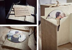 Environmentally Friendly Photography Packaging : Natural Hemp CD Case - DIY Ideas