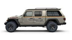 The Jeep Gladiator opens the doors for all kinds of off-road adventure possibilities. Sure, a Wrangler or W. Jeep Gladiator, Jeep Pickup, Jeep 4x4, Jeep Truck, Truck Camping, Overland Truck, Camper Shells, Jeep Mods, Jeeps