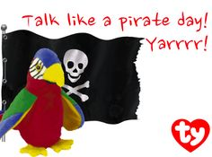 This #ThrowbackThursday celebrates National Talk Like a Pirate Day!