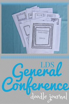 A Lively Hope: LDS General Conference Doodle Journal for Teens and Adults