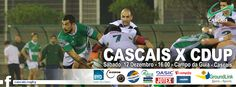JOGOS FIM DE SEMANA 12 E 13 DEZEMBRO - Cascais Rugby