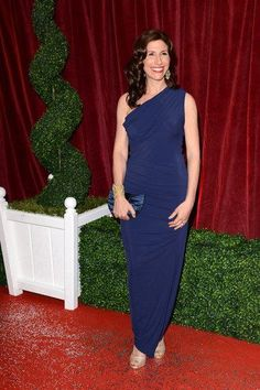 893a89cca2 Gaynor Faye opting for  gorgeouscouture Bailey Maxi Dress £174 at The  British Soap Awards