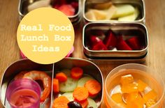 The Little Gnomes Home: Real food lunch box ideas for children