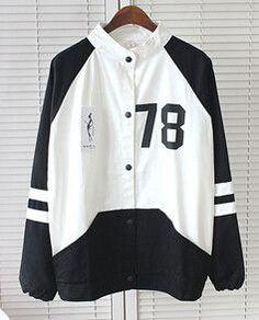 NEW 2016 women brand Harajuku College Wind spell color stitching baseball Jackets women Sweatshirt tops