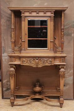 Henri II display cabinet with gilt accents - Display cabinets - Houtroos