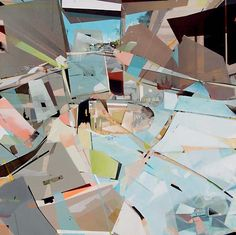 Kozyrev, Dimitri, 1967.  All is Well #8, 2004-2005  Oil and acrylic on canvas  47 x 47 in. (119.38 x 119.38 cm)