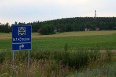 Luovan näkötornista avautuvat hienot näkymät yli Pohjanmaan lakeuksien. #kurikka #finland