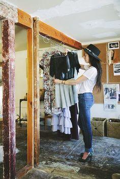 Photo by Miha Matei  GLAMOUR Chic Peek: Elkin Designers Kara & Brit Smith Invite Us To Their California-Cool Studio