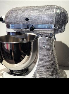 Omg I Would Love This Bedazzled Kitchen Aid Mixer In My Kitchen!