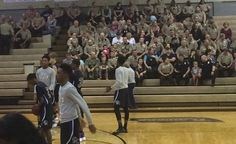 Deputies stand in for fallen colleague at his son's basketball game - LEO Affairs